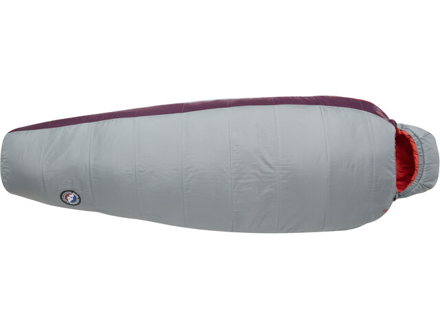 Big Agnes Elsie 15 Sovepose Regulær Damer, gray/paprika